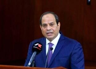 السيسي: القضاء على البطالة في مصر يتطلب وقتا
