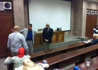 جامعة المنصورة تحيل طالبا إلي النيابة العامة للتحقيق