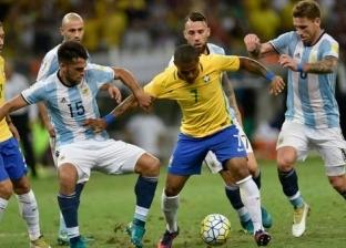شوط أول مثير.. الأرجنتين تتقدم على البرازيل بهدف ميسي (فيديو)