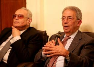 عمرو موسى: أعضاء الوفد هم أصحاب القرار الأول باختيار رئيس الحزب