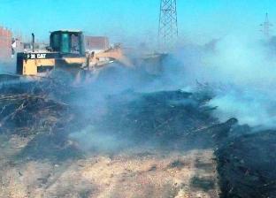 محافظ سوهاج: تحرير 86 محضر حرق مخلفات زراعية