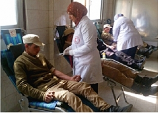 «أمن الجيزة» يشارك في حملة للتبرع بالدم