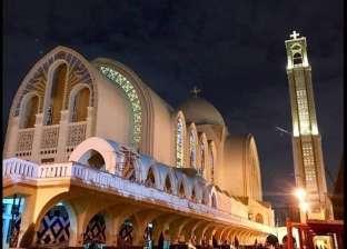شاهد| تجديدات الكاتدرائية العباسية قبل تدشينها في يوبيلها الذهبي