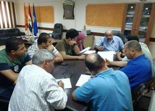 رئيس مدينة كفر الدوار يوجه بالانتهاء من مشروعات الصرف الصحي