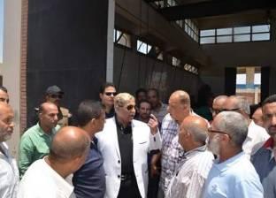 محافظ الإسماعيلية يتابع إصلاح عطل بمحطة صرف صحي مدينة المستقبل