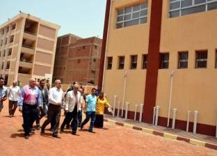 محافظ القليوبية يتفقد مشروعات قومية بتكلفة 281 مليون جنيه