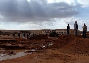 محافظة مطروح: امتلاء جميع الخزانات والآبار للشرب من مياه الأمطار