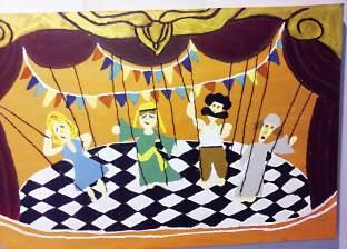 «الخطوة الأولى» يستضيف راحيل الياسين: مصر فى لوحات أصغر فنانة كويتية