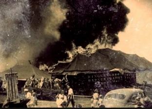 """""""أصوات بكاء"""".. ظهور أشباح حريق أشهر سيرك أمريكي في مطلع القرن الماضي"""