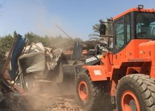 محافظة القليوبية: إزالة 163 حالة تعدٍ على أملاك الدولة