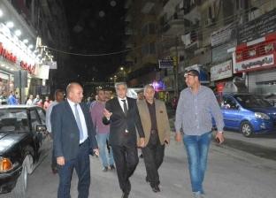 محافظ المنيا يتابع الحركة المرورية بالشوارع ويشدد على رفع الإشغالات