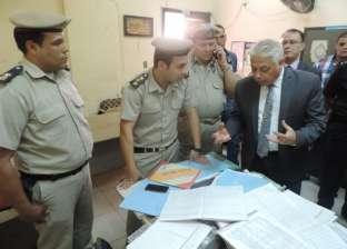 مدير أمن البحيرة يتفقد مركز تدريب الشرطة بمنطقة الأبعادية في دمنهور