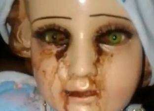 """تمثال للمسيح يبكي دما في المكسيك.. والسكان: """"علامة من الله"""""""