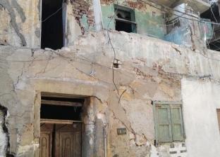مصرع أم وطفلتها إثر انهيار جزئي لعقار وسط الإسكندرية
