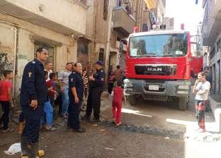 إصابة زوجين وطفلة في حريق بمسكنهم بطوخ