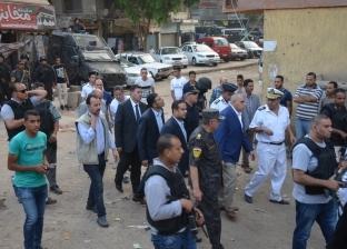 """بالصور  مدير أمن الجيزة يقود حملة لإزالة عشش السكة الحديد بـ""""السودان"""""""