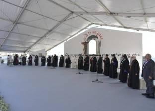 بالصور| بابا الفاتيكان: الشرق الأوسط يبكي ويتألم ويبتلع دموعه