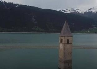 بعد 70 عاما.. اكتشاف قرية إيطالية غارقة تحت المياه