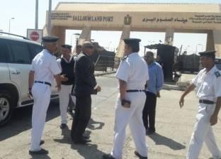 تنفيذ 64 حكما وتحرير 511 مخالفة في حملة أمنية بمطروح والساحل الشمالي