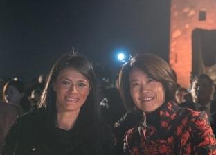 المشاط تشارك في احتفالات أعياد الربيع الصينية بقلعة صلاح الدين
