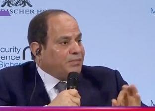 عاجل| السيسي: كنت أول رئيس دولة مسلمة يطالب بإصلاح الخطاب الديني