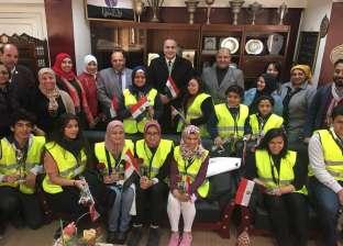 """مدير """"تعليم القاهرة"""" يتابع الاستعدادات النهائية لمبادرة تنشيط السياحة"""
