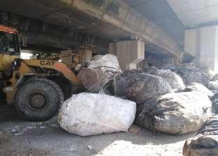 ضبط تاجر بحوزته 6 آلاف طن مخلفات في الإسكندرية
