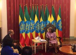 سفير مصر يؤكد لرئيسة إثيوبيا الحرص على التنسيق في قضايا القارة