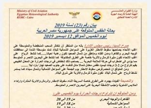 """بيان لـ""""الأرصاد"""" بتوقيع """"طاحون"""" يكشف تعيين رئيس جديد لـ""""الهيئة"""""""