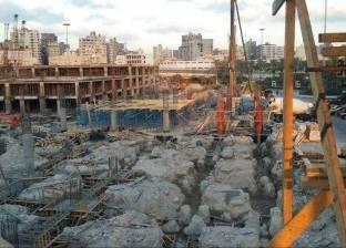ميناء الإسكندرية: تنفيذ الجراج متعدد الطوابق يسير وفق الجدول الزمني
