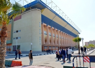 محافظ بورسعيد يتفقد الاستعدادات النهائية لبطولة دورة حوض البحر المتوسط