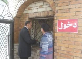 بالصور| رئيس مدينة دسوق يتابع تطوير مكتبة حديقة الأسرة والطفولة