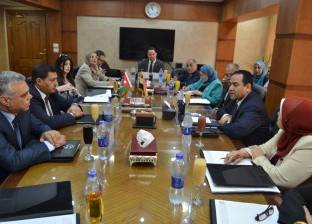 صالح الشيخ يستقبل رئيس الخدمة المدنية الأردني لبحث التعاون بين البلدين