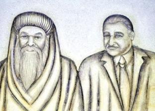 «عبدالناصر والسادات والسيسى» على جدران كنيسة بالإسكندرية