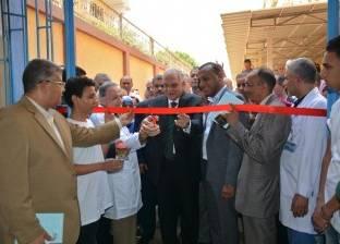 بالصور| محافظ الجيزة يفتتح أعمال تطوير العيادات الخارجية بمستشفى بولاق العام
