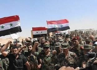 الجيش السوري يعلن تأمين محيط مطار دير الزور بشكل كامل