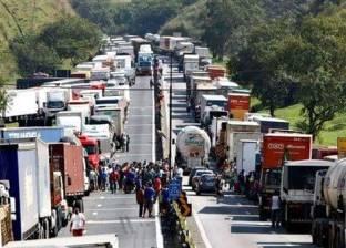 إضراب سائقي الشاحنات في البرازيل يشل صناعة السيارات ويعطل حركة الطيران