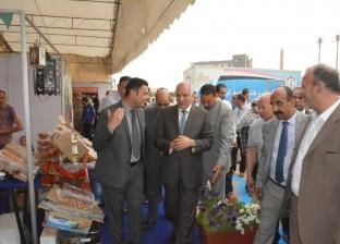 """افتتاح معرض """"أهلا رمضان"""" بساحة انتظار سيارات في 6 أكتوبر"""