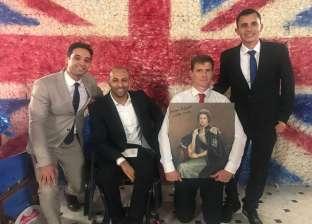 هدية سباح منتخب مصر لملكة بريطانيا في عيد ميلادها:رسالة من ذوي الإعاقة