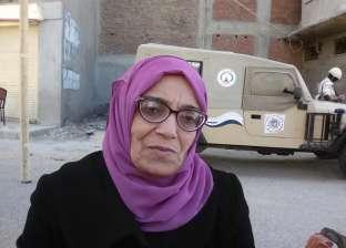 بالصور  لليوم الثالث.. سيدات دمياط يتصدرن المشهد أمام لجان الاستفتاء