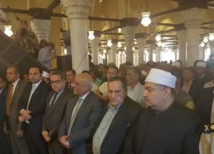 جمعة والعناني يفتتحان المرحلة الأولى من أعمال ترميم مسجد زغلول في رشيد
