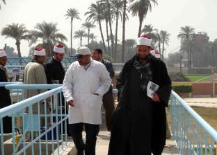 أئمة البلينا يلتقون لبحث سبل توعية المواطنين لترشيد استهلاك المياه بسوهاج