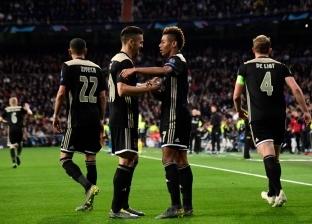 بالفيديو| ريال مدريد ملطشة أوروبا بعد سقوطه المرير أمام أياكس بالأربعة