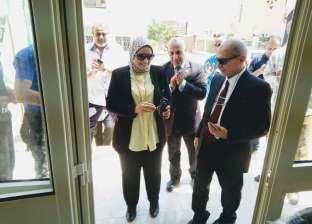 بالصور| افتتاح ثاني منافذ جهاز مشروعات الخدمة الوطنية في الحامول