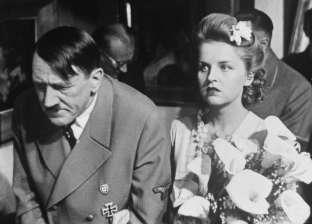 """في ذكرى رحيلهما.. لماذا انتحر هتلر وحبيبته بعد """"40 ساعة زواج""""؟"""