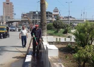 """حي """"المنتزه"""" يشن حملة لتجميل الأحواض والمسطحات الخضراء بالإسكندرية"""