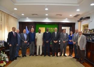 """الكردي: مركز لتنمية القدرات في """"غينيا"""" تحت إشراف جامعة الإسكندرية"""