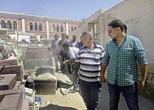 غضب فى الإسكندرية بعد هدم 10 مقابر بمدفن «العمود»