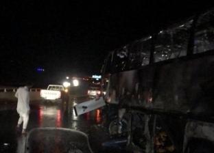 عاجل.. ارتفاع عدد ضحايا حادث الأتوبيس بطريق الهجرة لـ 36 حالة وفاة
