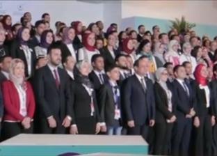السيسي يشهد فيلما تسجيليا عن مؤتمرات الشباب منذ انطلاقها في 2016